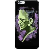 Frankenstein splatter iPhone Case/Skin