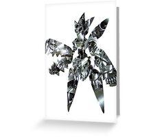 Mega Scizor used Bullet Punch Greeting Card