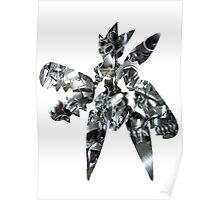 Mega Scizor used Bullet Punch Poster