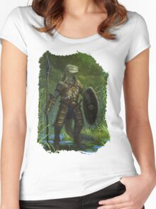 Argonian Warrior Women's Fitted Scoop T-Shirt