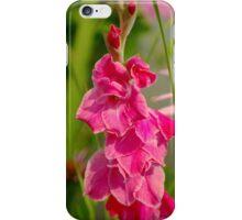 Gladiolus Flower iPhone Case/Skin