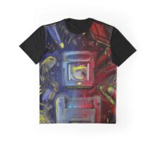 Pocket Power - Blue vs Red Graphic T-Shirt