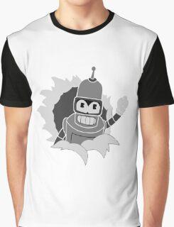 Robot Art Graphic T-Shirt