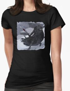 Argonian In Mountians Womens Fitted T-Shirt