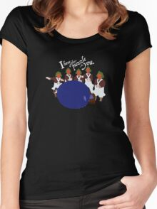 Big Blueberry Women's Fitted Scoop T-Shirt
