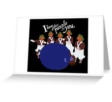 Big Blueberry Greeting Card