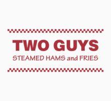 Two Guys - Steamed Hams & Fries Kids Tee