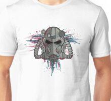 T-60 Spattered Helmet Unisex T-Shirt