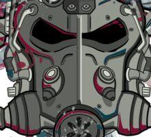 T-60 Spattered Helmet Sticker