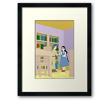 Rival Couples: Mary & Gray Framed Print
