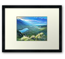 The last touch Framed Print