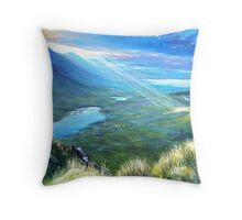 The last touch Throw Pillow