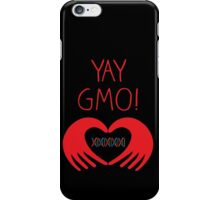 YAY GMO! 2 iPhone Case/Skin