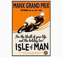 """MANX GRAND PRIX"" Motorcycle Racing Print Unisex T-Shirt"