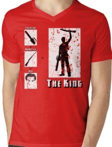 The King - Light Mens V-Neck T-Shirt