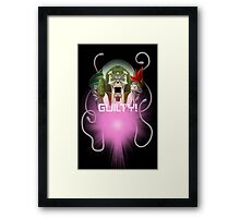 TF - Quintesson (with quote) Framed Print