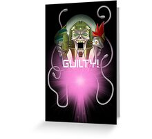 TF - Quintesson (with quote) Greeting Card