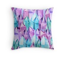 Crystal dream Throw Pillow