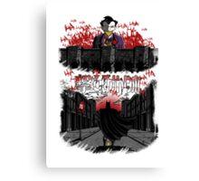 Attack on Gotham Canvas Print