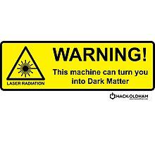 Dark Matter Photographic Print