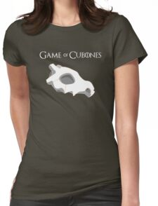 Game Of Cubones Womens Fitted T-Shirt