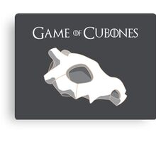 Game Of Cubones Canvas Print