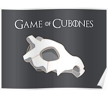 Game Of Cubones Poster