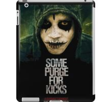 Some Purge For Kicks iPad Case/Skin