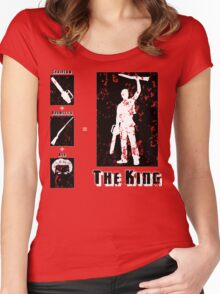 The King - Dark Women's Fitted Scoop T-Shirt