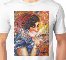 The artist and her puros Unisex T-Shirt