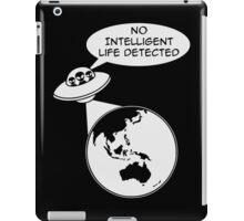 UFO: No Intelligent Life Detected (Oceania) iPad Case/Skin