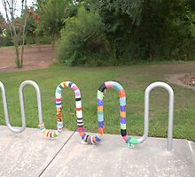 Knitted Worm by Brian Blaine