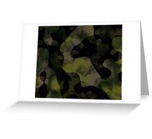 camo abstract Greeting Card