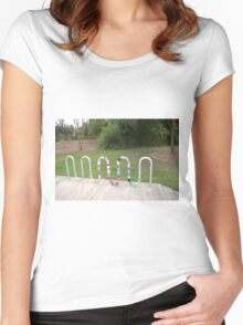 Knitted Worm Women's Fitted Scoop T-Shirt