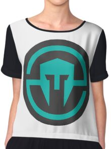 Immortals - Vector Logo Chiffon Top