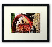 Wheel Power Framed Print