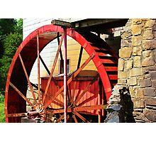 Wheel Power Photographic Print