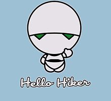 Hello Hiker Womens Fitted T-Shirt