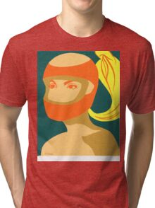 RACER GIRL Tri-blend T-Shirt