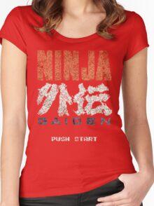 Ninja Gaiden Vintage Emblem Women's Fitted Scoop T-Shirt