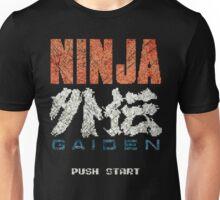 Ninja Gaiden Vintage Emblem Unisex T-Shirt