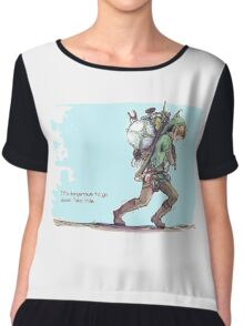 It's dangerous to go alone! Take this. Chiffon Top