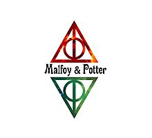 Malfoy & Potter Photographic Print