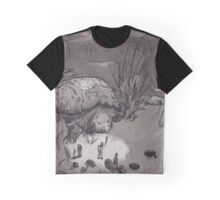 Giant Turtle Graphic T-Shirt
