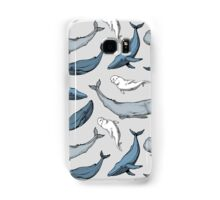 Whales are everywhere Samsung Galaxy Case/Skin