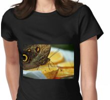 Giant Butterfly And Other Diners In Armenia Womens Fitted T-Shirt