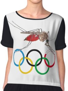 Blood Test at the Olympics Chiffon Top