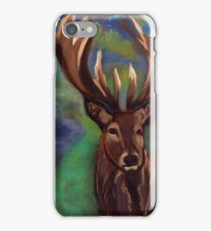 The Stag, Gentle Power  iPhone Case/Skin