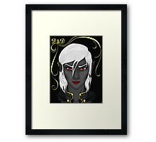 "D&D: ""Red Lips"" Framed Print"