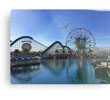 California Adventures: Paradise Pier  Metal Print